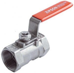 1-pc ball valve, SS