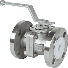 237L, lined valve with PFA lining, JIS10K & ANSI150