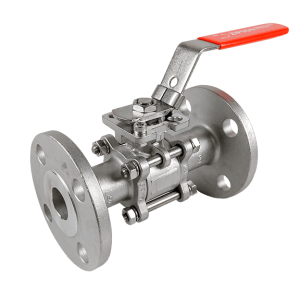 302F, 3-pc flange ball valve
