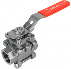 302F, high performance 3-pc ball valve