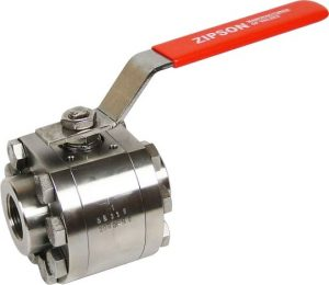 316T, 3-pc high pressure ball valve