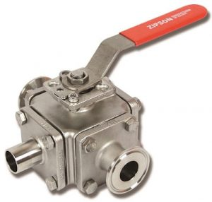 620A, multi-way sanitary ball valve