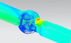 flow simulation sample in Zipson